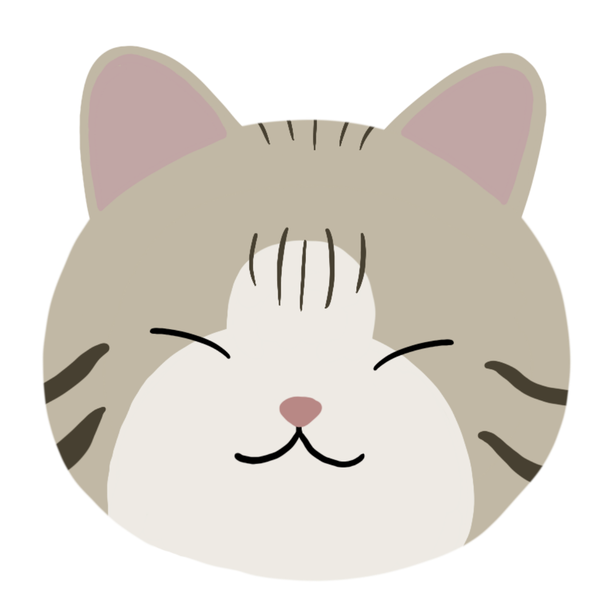 cat icon drawing